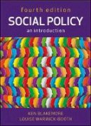 Blakemore, Ken, Warwick-Booth, Louise - Social Policy: An Introduction - 9780335246625 - V9780335246625