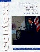 Farmer, Alan; Sanders, Vivienne - An Introduction to American History, 1860-1990 - 9780340803264 - V9780340803264