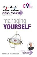 Walmsley, Bernice - Managing Yourself (Instant Manager) - 9780340947388 - V9780340947388