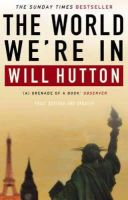 Will Hutton - The World We're in - 9780349114712 - KHS0049848