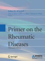 - Primer on the Rheumatic Diseases - 9780387356648 - V9780387356648