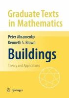 Abramenko, Peter; Brown, Ken - Buildings - 9780387788340 - V9780387788340