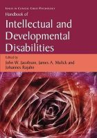 - Handbook of Intellectual and Developmental Disabilities (Issues in Clinical Child Psychology) - 9780387887142 - V9780387887142