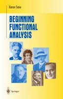 Saxe, Karen - Beginning Functional Analysis - 9780387952246 - V9780387952246