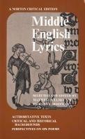 Luria, Ms - Middle English Lyrics - 9780393093384 - V9780393093384