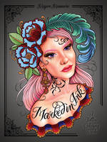 Massacre, Megan - Marked in Ink: A Tattoo Coloring Book - 9780399578779 - V9780399578779