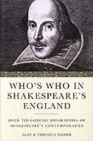 Palmer, Alan & Veronica - Who's Who in Shakespeare's England - 9780413747105 - KRF0014115