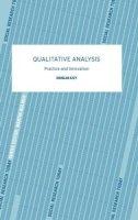 Ezzy, Douglas - Qualitative Analysis - 9780415281263 - V9780415281263