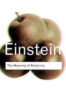 Einstein, Albert - The Meaning of Relativity - 9780415285889 - V9780415285889
