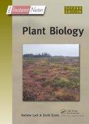Lack, Andrew; Evans, David - BIOS Instant Notes in Plant Biology - 9780415356435 - V9780415356435
