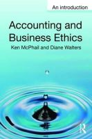 McPhail, Ken; Walters, Diane - Accounting and Business Ethics - 9780415362368 - V9780415362368