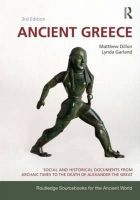 Dillon, Matthew; Garland, Lynda - Ancient Greece - 9780415473309 - V9780415473309