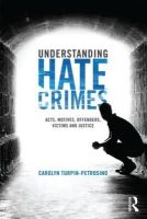 Petrosino, Carolyn - Understanding Hate Crimes: Acts, Motives, Offenders, Victims, and Justice - 9780415484015 - V9780415484015