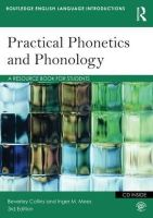 Collins, Beverley S.; Mees, Inger M. - Practical Phonetics and Phonology - 9780415506496 - V9780415506496