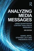 Riffe, Dan; Lacy, Stephen; Fico, Frederick G. - Analyzing Media Messages - 9780415517676 - V9780415517676