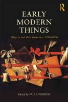 - Early Modern Things - 9780415520515 - V9780415520515
