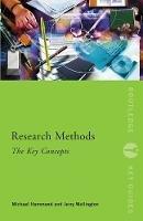 Hammond, Michael; Wellington, Jerry - Research Methods - 9780415599832 - V9780415599832