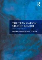 - The Translation Studies Reader - 9780415613484 - V9780415613484