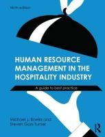 Boella, Michael; Goss-Turner, Steven - Human Resource Management in the Hospitality Industry - 9780415632546 - V9780415632546