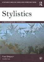 Simpson, Paul - Stylistics - 9780415644976 - V9780415644976