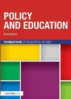 Adams, Paul - Policy and Education - 9780415697583 - V9780415697583