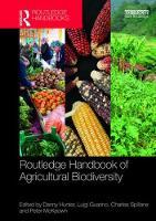 - Routledge Handbook of Agricultural Biodiversity - 9780415746922 - V9780415746922