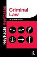 Martin, Jacqueline - Criminal Law - 9780415833257 - V9780415833257