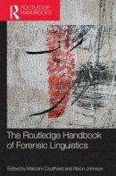 - The Routledge Handbook of Forensic Linguistics - 9780415837231 - V9780415837231