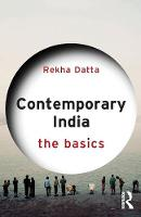 Datta, Rekha - Contemporary India: The Basics - 9780415841566 - V9780415841566