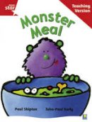 - Rigby Star Guided Reading Red Level: Monster Meal Teaching Version - 9780433048565 - V9780433048565