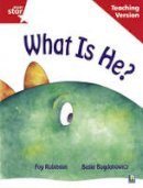 - Rigby Star Guided Reading Red Level: What is He? Teaching Version - 9780433048633 - V9780433048633