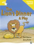 - Rigby Star Guided Reading Yellow Level: The Lion's Dinner Teaching Version - 9780433049340 - V9780433049340