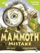 - A Mammoth Mistake (Rigby Star) - 9780433050377 - V9780433050377
