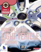 Stoakes, Graham - Level 1 Principles of Light Vehicle Operations Candidate Handbook - 9780435048150 - V9780435048150