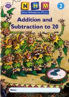 - New Heinemann Maths Year 2, Addition and Subtraction to 20 Activity Book (8 Pack) - 9780435169787 - V9780435169787