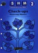 Scottish Primary Mathematics Group - Scottish Heinemann Maths 2: Check-up Workbook PCMs - 9780435171056 - V9780435171056