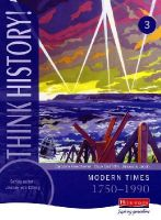 - Think History: Modern Times 1750-1990 Core Pupil Book 3 - 9780435313708 - V9780435313708