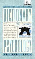 Chaplin, J.P. - Dictionary of Psychology (Laurel Book) - 9780440319252 - KRF0040527