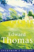 Thomas, Edward - Edward Thomas (EVERYMAN POETRY) - 9780460878777 - KIN0006078