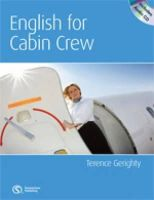 Gerighty, Terence, Davis, Shon - English for Cabin Crew - 9780462098739 - V9780462098739