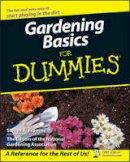 Frowine, Steven A.; The National Gardening Association - Gardening Basics For Dummies - 9780470037492 - V9780470037492
