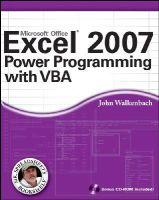 Walkenbach, John - Excel 2007 Power Programming with VBA - 9780470044018 - V9780470044018