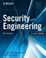 Anderson, Ross J. - Security Engineering - 9780470068526 - V9780470068526