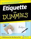 Fox, Sue - Etiquette For Dummies - 9780470106723 - V9780470106723