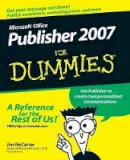 McCarter, Jim; Mabin, Jacqui Salerno - Microsoft Office Publisher 2007 For Dummies - 9780470184967 - V9780470184967
