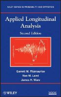 Fitzmaurice, Garrett M., Laird, Nan M., Ware, James H. - Applied Longitudinal Analysis (Wiley Series in Probability and Statistics) - 9780470380277 - V9780470380277