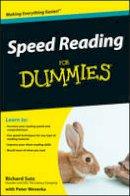 Sutz, Richard; Weverka, Peter - Speed Reading for Dummies - 9780470457443 - V9780470457443