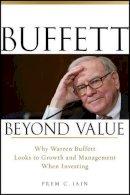 Jain, Prem C. - Buffett Beyond Value - 9780470467152 - V9780470467152