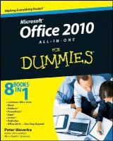 Weverka, Peter - Office 2010 All-in-One For Dummies - 9780470497487 - V9780470497487