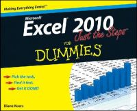 Koers, Diane - Excel 2010 Just the Steps For Dummies - 9780470501641 - V9780470501641